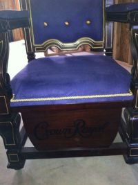 crown royal throne chair