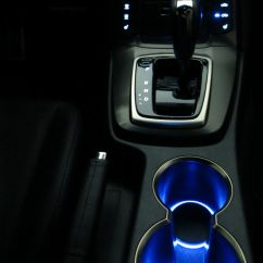 Interior All New Camry 2016 Hybrid 2018 Led Cup Holder Lights - Blue Fits 2010-2012 ...