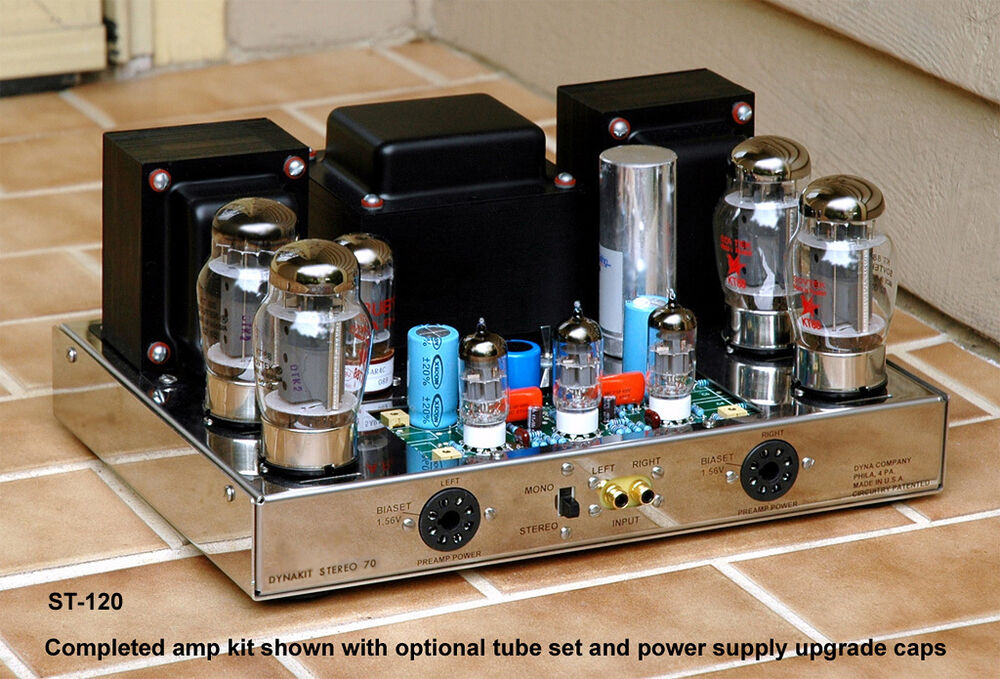 Stereo Tube Amplifier