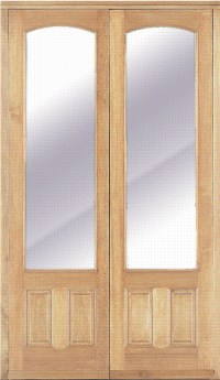 4FT (APPROX) EXTERNAL FRENCH PATIO DOORS SOLID HARDWOOD ...