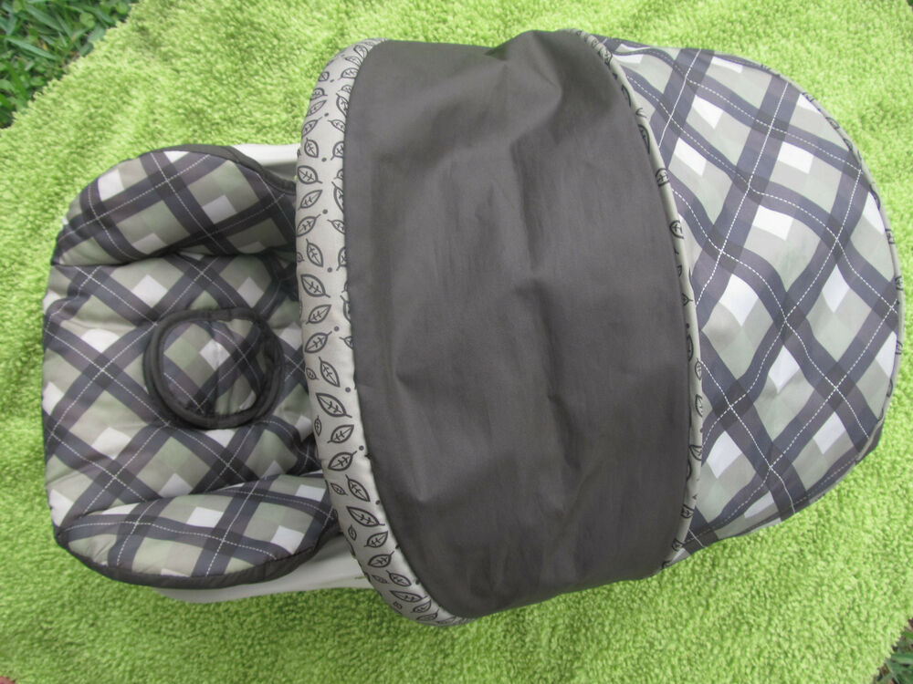 Replacement Car Seat Cover + Canopy Infant Car Seat Baby
