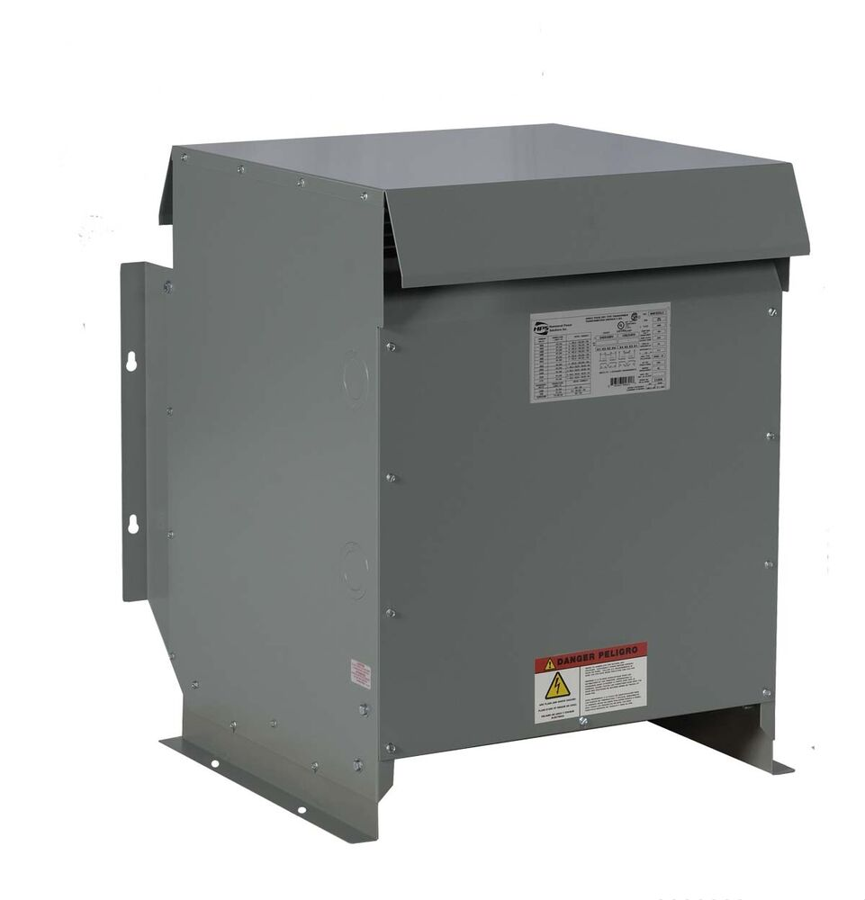 medium resolution of 15kva dry type transformer 480 240 volt step down 3 phase new nema 3r ebay