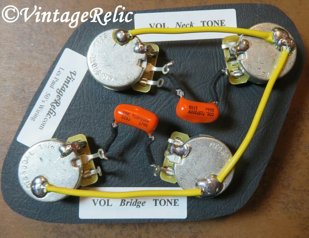 Les Paul Wiring Les Paul Wiring Diagram