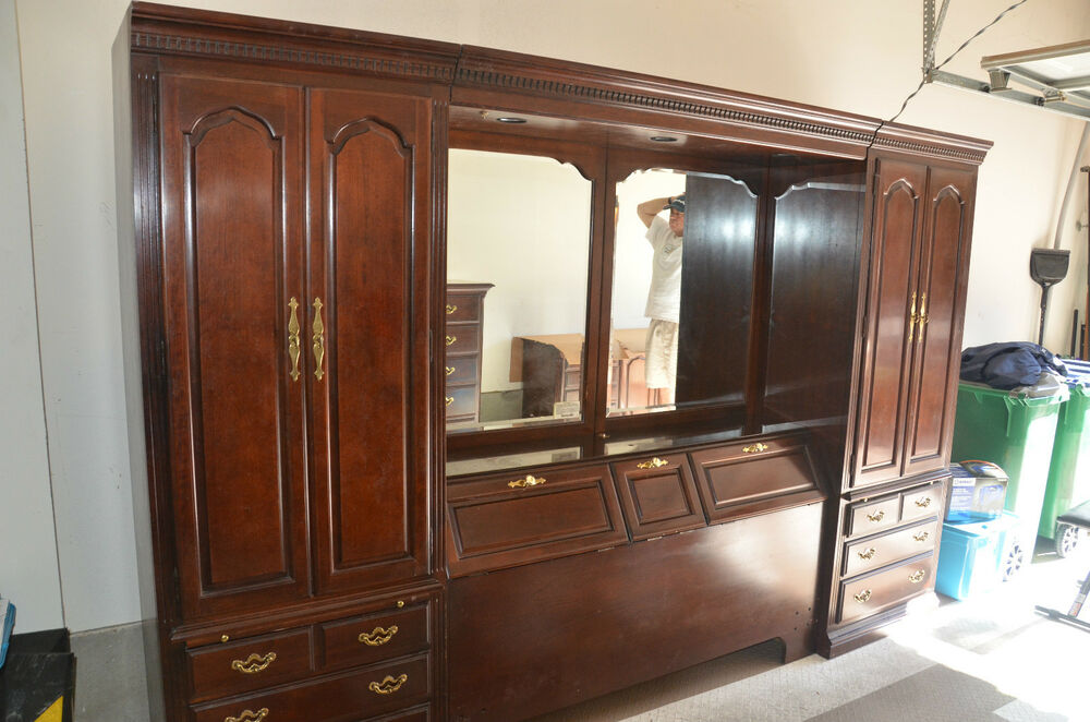 Thomasville Collectors Cherry QueenFull Bedroom Set  eBay