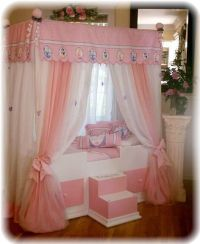 FULL Disney Princess Canopy Bedding...Girls Bed...Canopy ...