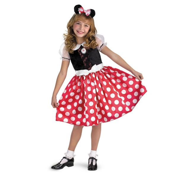 Disney Mickey Mouse Clubhouse Minnie Classic Child Costume Disguise 5036