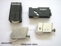 Sliding glass door rollers & wheels * 1 PAIR * Stegbar