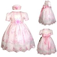 New Baby Girl Toddler Pink Dresses Wedding Prom Easter