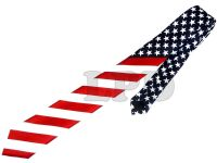 New US 4th Of July Patriotic USA Flag Skinny TIE