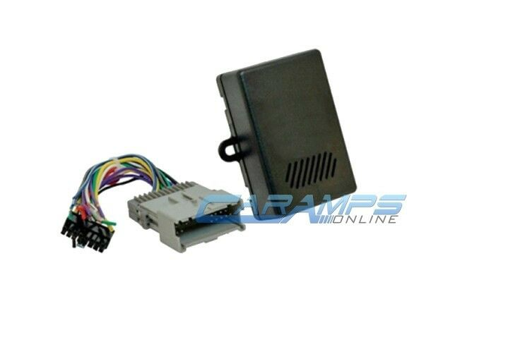 2003 gmc sierra bose stereo wiring diagram australian phone line gm car replacement factory interface module w harness details about adapter plug