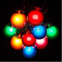 50 Foot Outdoor Globe Patio String Lights - Set of 50 G40 ...