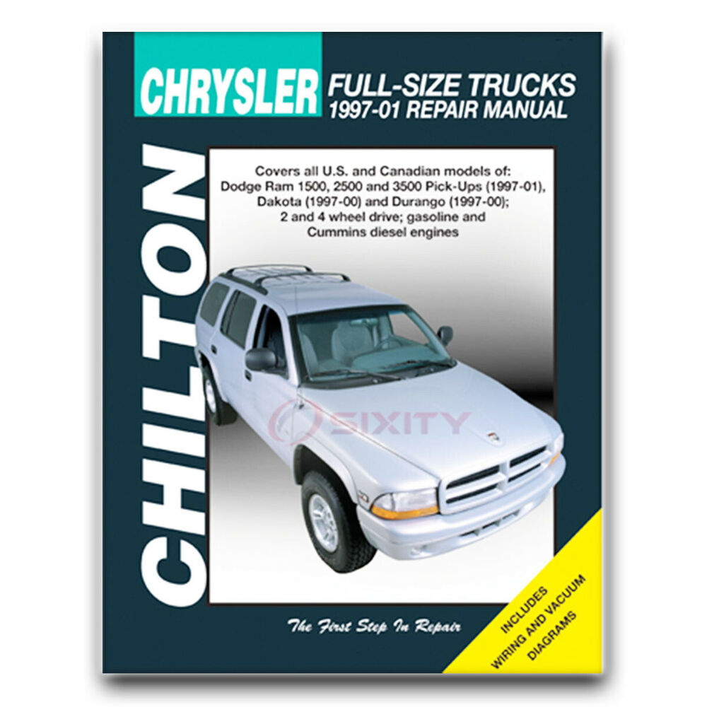 hight resolution of details about chilton repair manual for 1997 2001 dodge ram 1500 shop service garage fq