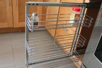 "Spice Rack- In-cabinet Pull Out 3 Shelves 5.5"" Wide Wall ..."