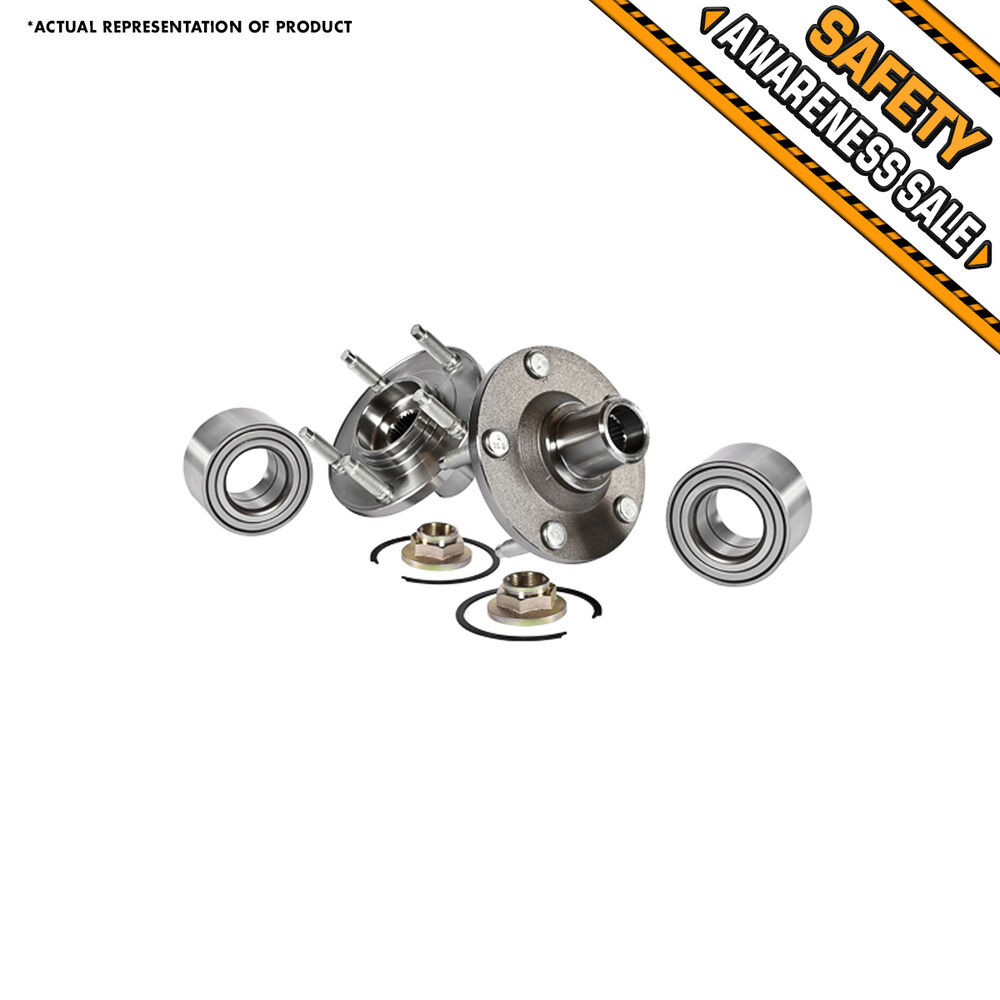 2 NEW Front Wheel Hub Bearing Assembly FORD ESCAPE MAZDA