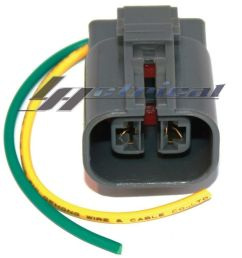 details about repair plug harness 2 wire pigtail connector fits kia sportage 2 0l 4cyl 1995 02 [ 1000 x 1000 Pixel ]