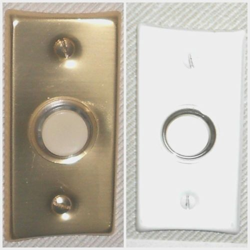 small resolution of details about nutone push button lighted economy gold or white finish pushbutton new