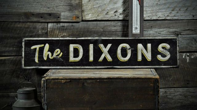additionally Distressed Family Name Signs likewise Wooden Monogram ...