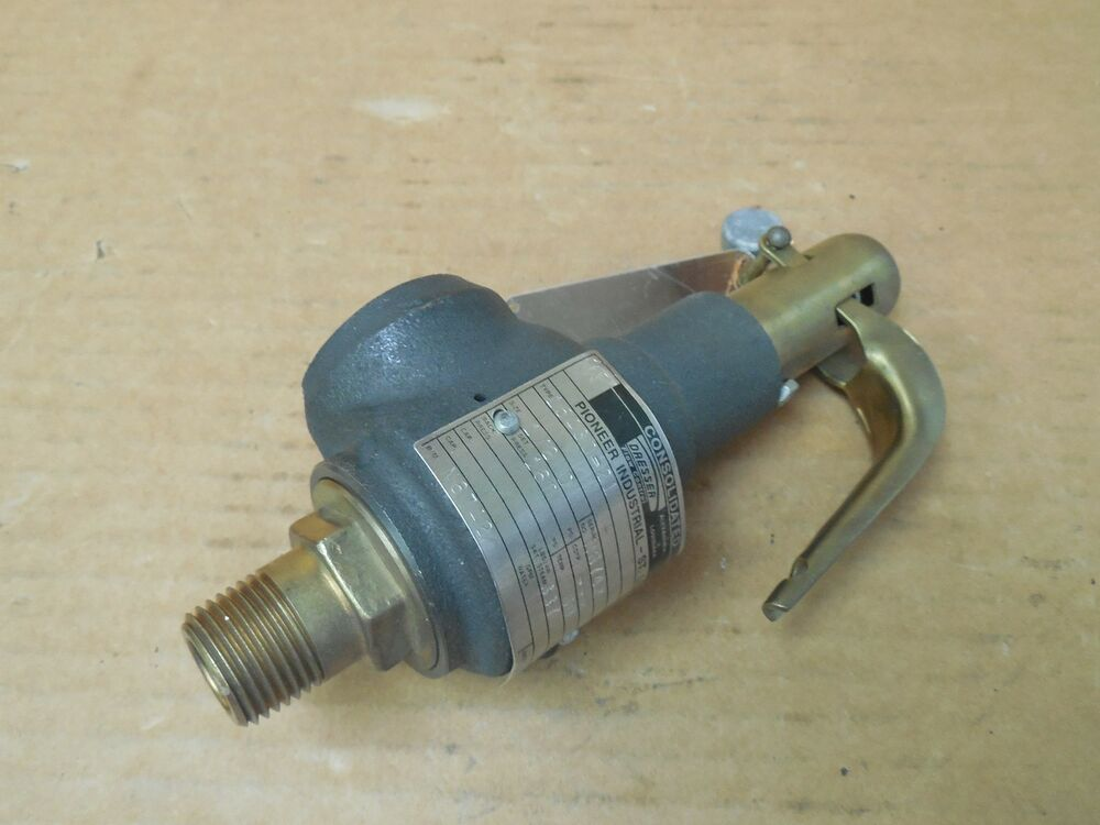 Dresser Consolidated Safety Valve 1543D21 1543D21 160 PSI