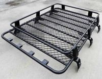 Transit Van Steel ROOF RACK TRAY TOP Black 4X4 CARGO