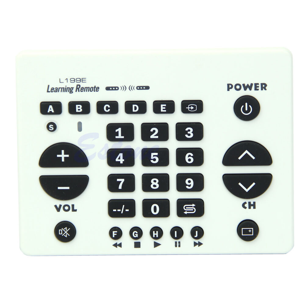 L199E Universal Smart Learning Remote Control Controller