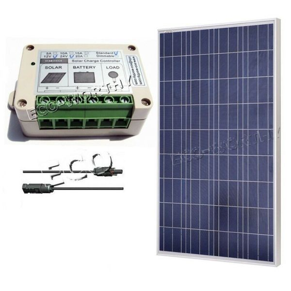 100watts Poly Solar Panel 100w Module Kit Grid 12v Home Camping