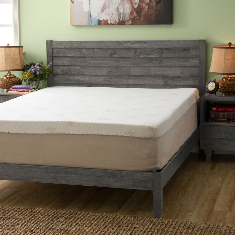 Grande Hotel Collection Trizone 14inch Kingsize Gel Memory Foam Mattress  eBay