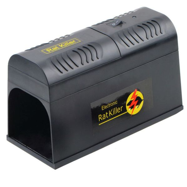 Electronic Rat Trap Zapper Electric Mouse Rodent Repeller