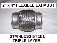 Woven flex exhaust pipe flexible repair 50mm Audi