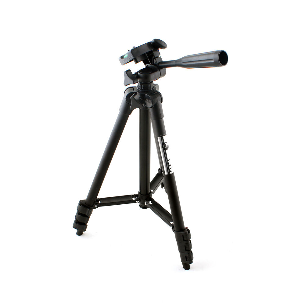 Mini Portable Digital Camera DLSR Tripod Monopod Black for