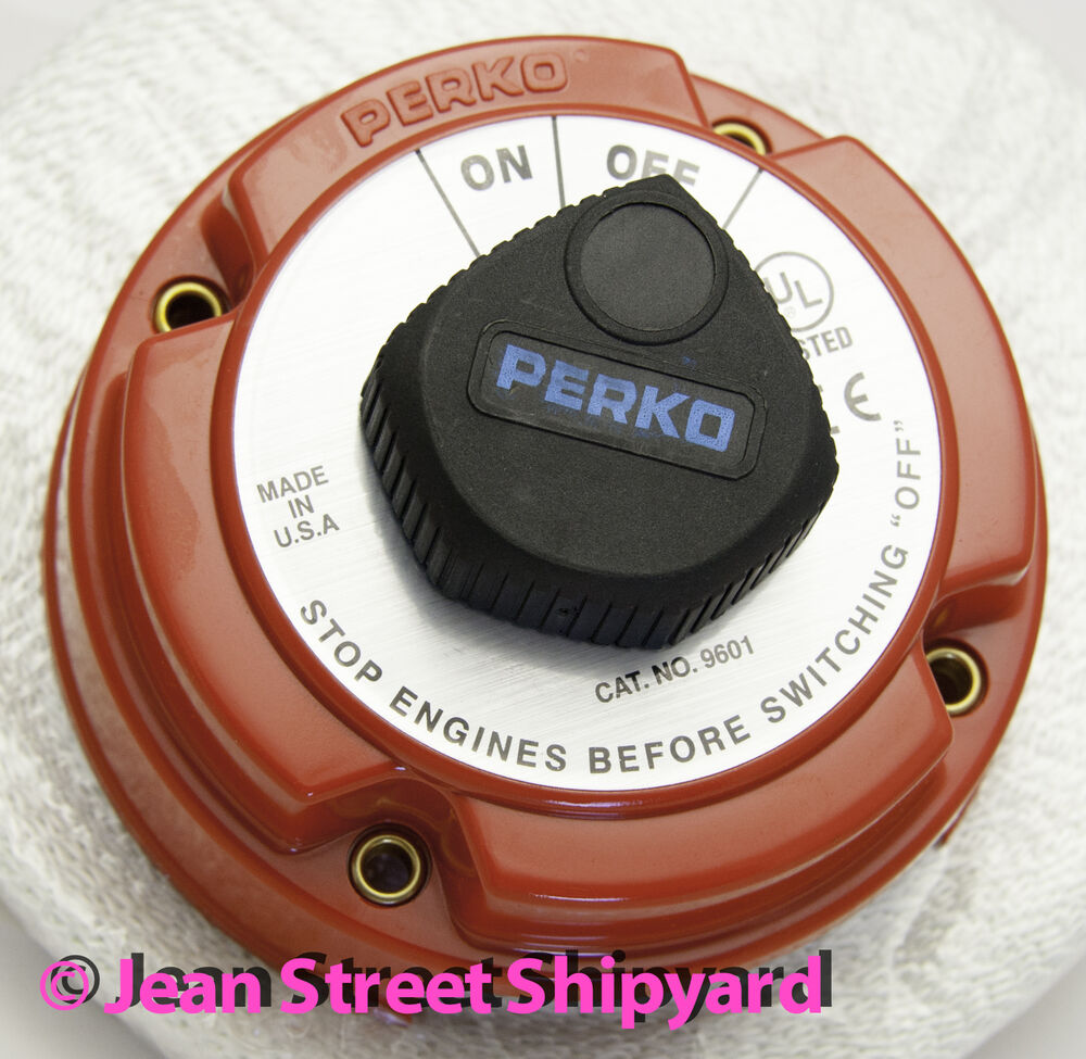 Perko Battery Switch For Boats