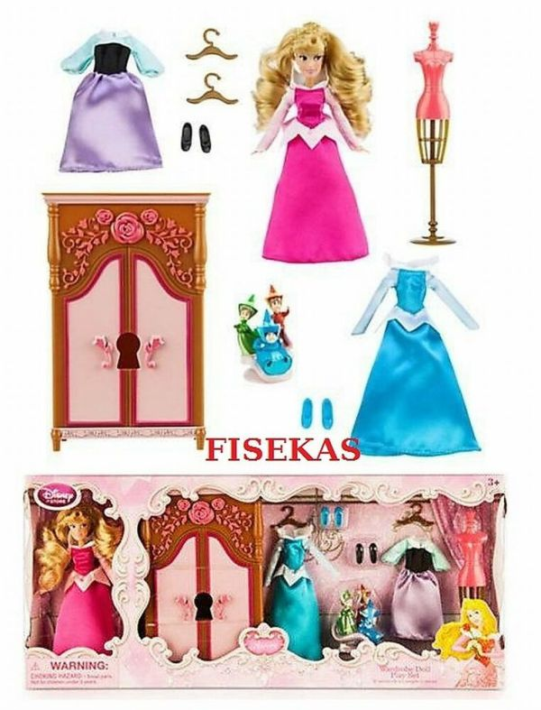 Disney Store Sleeping Beauty Mini Doll Aurora 5quot Wardrobe