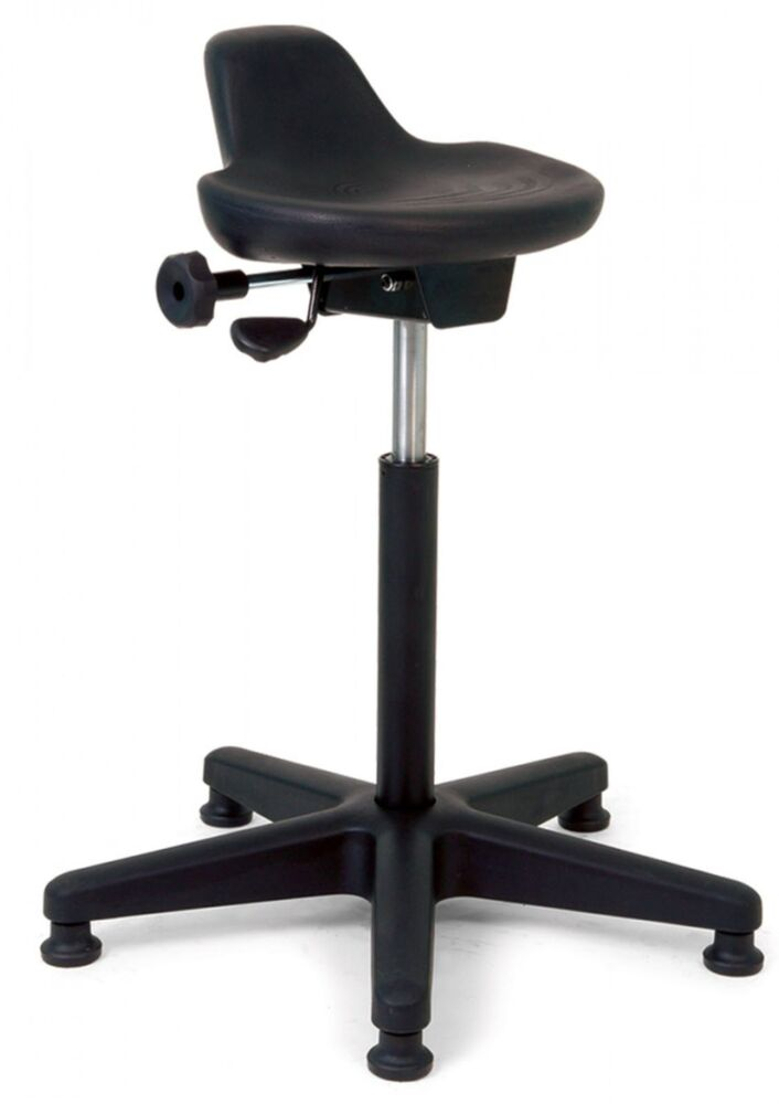 alera office chair patio swivel set new requiez industrial / production line, heavy duty high chair, sit stand | ebay