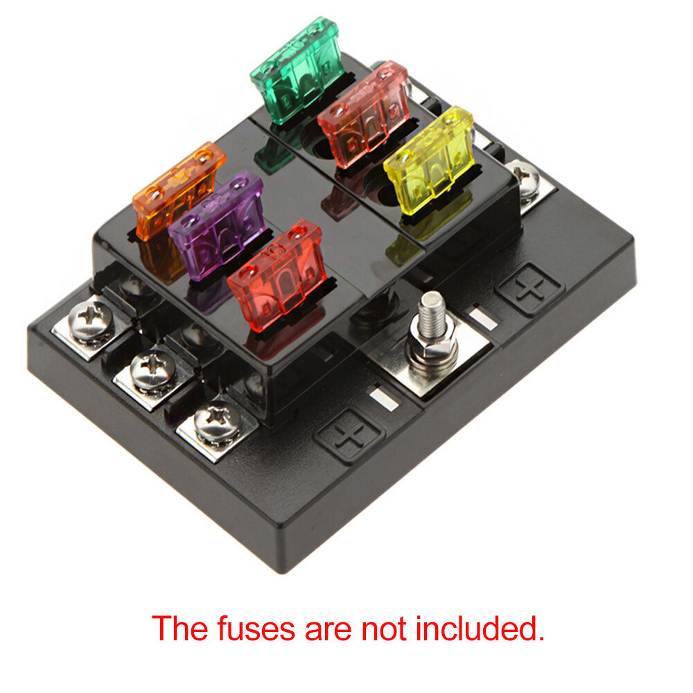 Eg Under Dash Fuse Box Coupe Auto Electrical Wiring Diagram 6 Way Circuit 32v Dc Blade Block Holder For