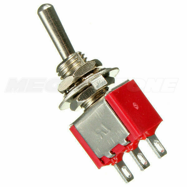 10pcs 3 Pin Spdt On On Toggle Switch 6a 125vac Yb Ebay