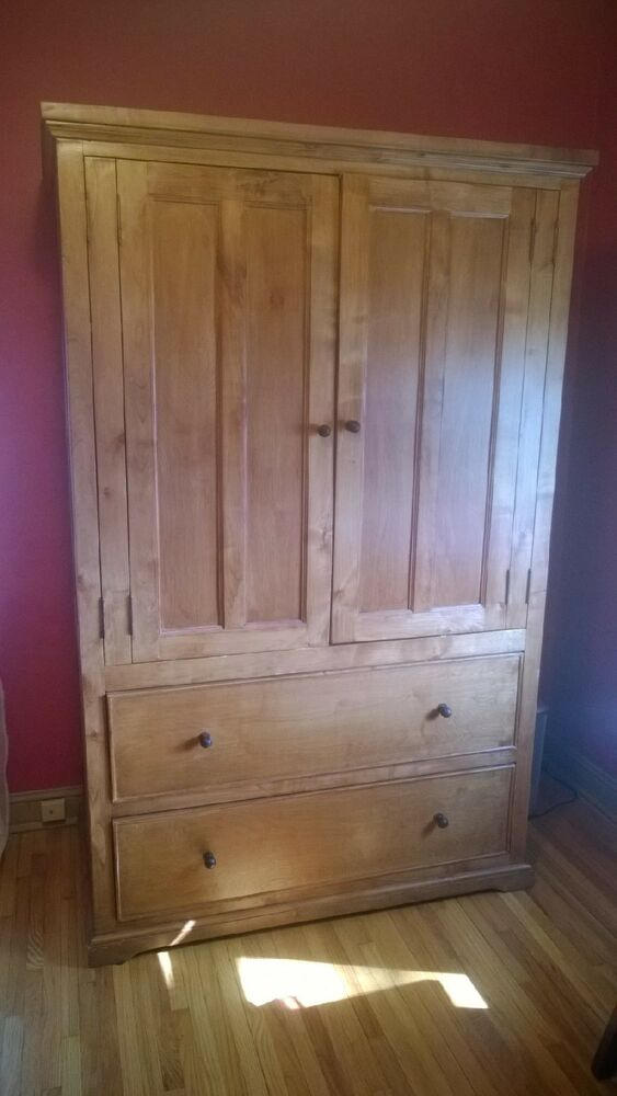 Solid Pine Armoire Ebay