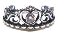 NEW PANDORA STERLING SILVER ORNATE BEAD BAND CROWN HEART ...