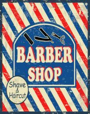 barber shave&haircut large