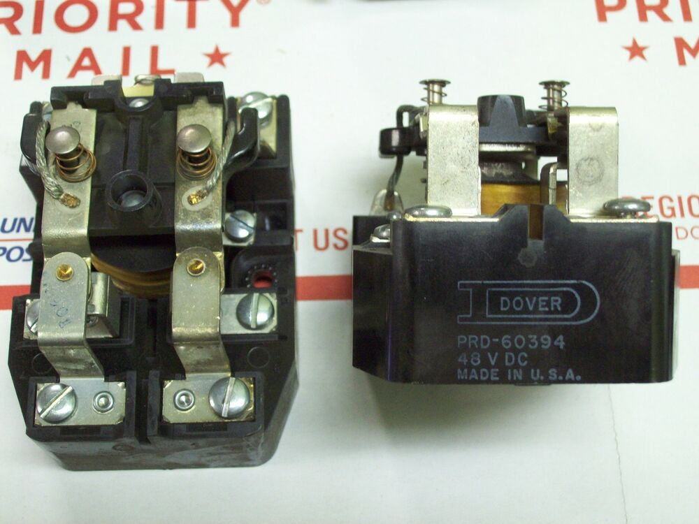 Dover Potter Brumfield Tyco Open Power Relay 48 Volt