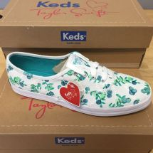Taylor Swift Keds Shoes White