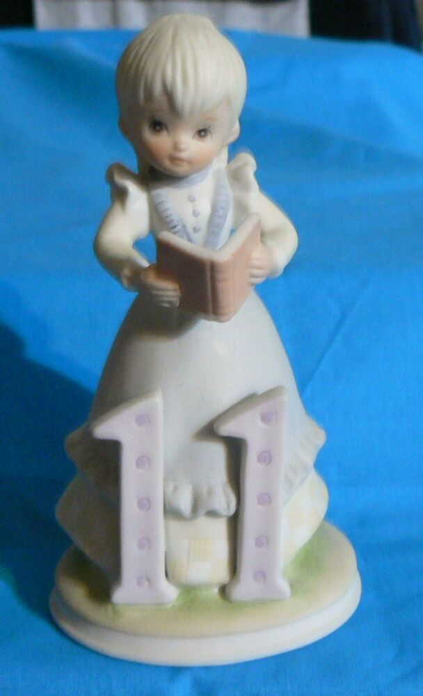 LEFTON THE CHRISTOPHER COLLECTION BIRTHDAY GIRLS FIGURINE