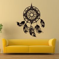 Dreamcatcher Decal Dream Catcher Wall Vinyl Decals Bedroom ...