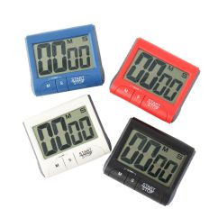 Loud Kitchen Timer Marble Table For Sale Magnetic Large Lcd Screen Digital Alarm ...