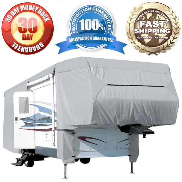 4Layer 5th Wheel Covers Travel Trailer RV Motorhome Camper Storage Cover Fabric  eBay