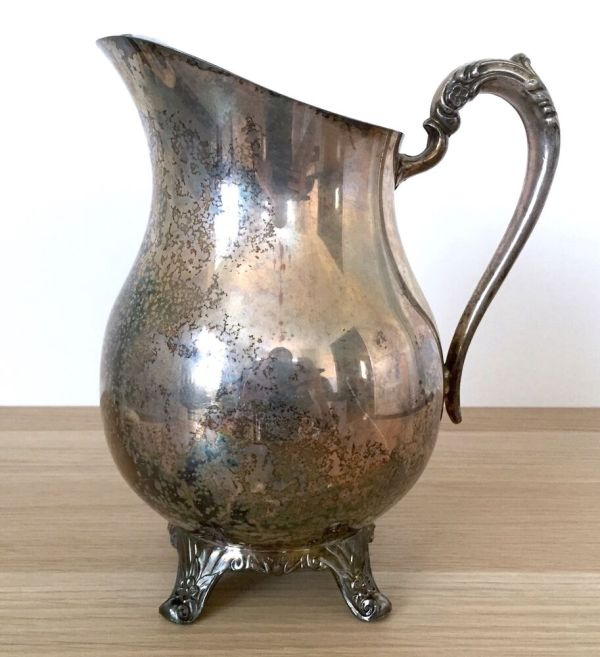 """Rogers Silver 1883 Water Pitcher 9"""""""