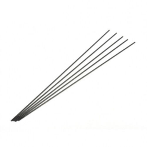 Black steel wire push rod Φ1.8 × 250mm (one tooth) for RC
