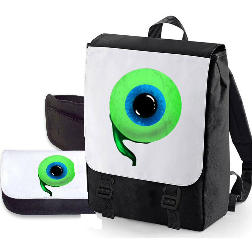 JACKSEPTICEYE DOUBLE PACK BAG  PENCIL CASE EYE BAGBASE PERFECT FOR SCHOOL  eBay