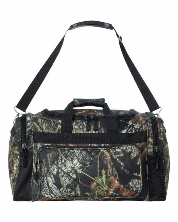 Licensed Camo Hunting Duffle Bag - Mossy Oak Break