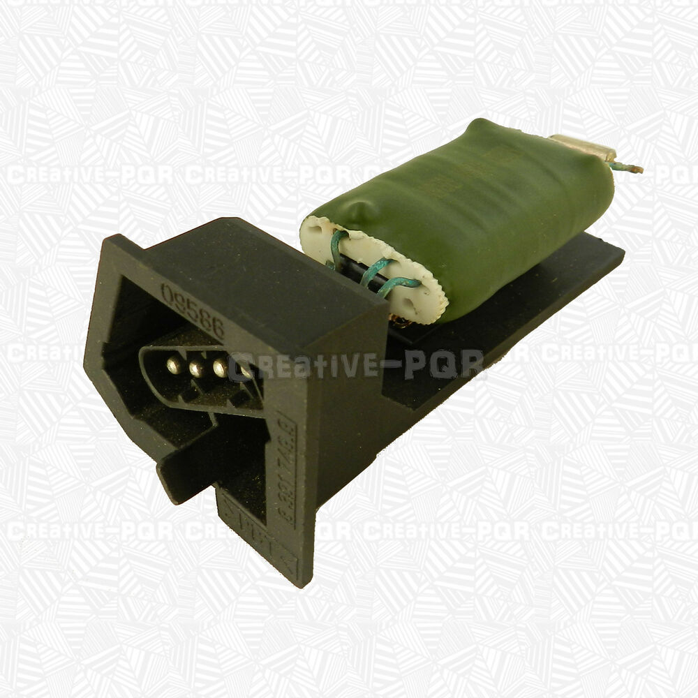 Bmw E36 Blower Motor Resistor Location