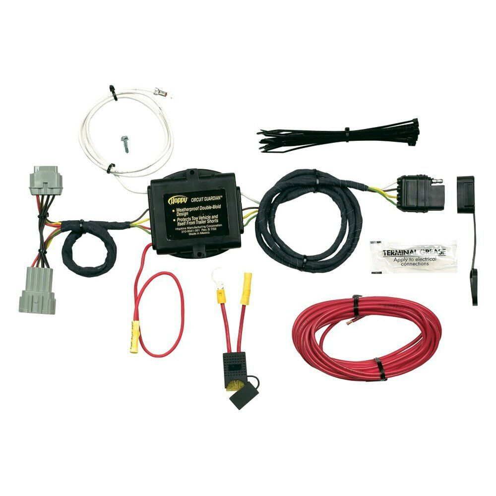 Hopkins 56101 Towing Solutions Plug In Simple Towed Vehicle Wiring Kit