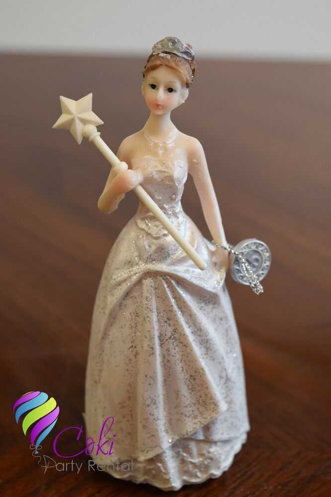 QUINCEANERA 15 BIRTHDAY SWEET 16 CAKE TOPPER PARTY